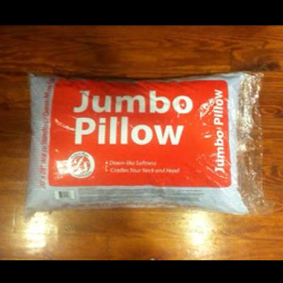 Oxford Stripe Jumbo Bed Pillow