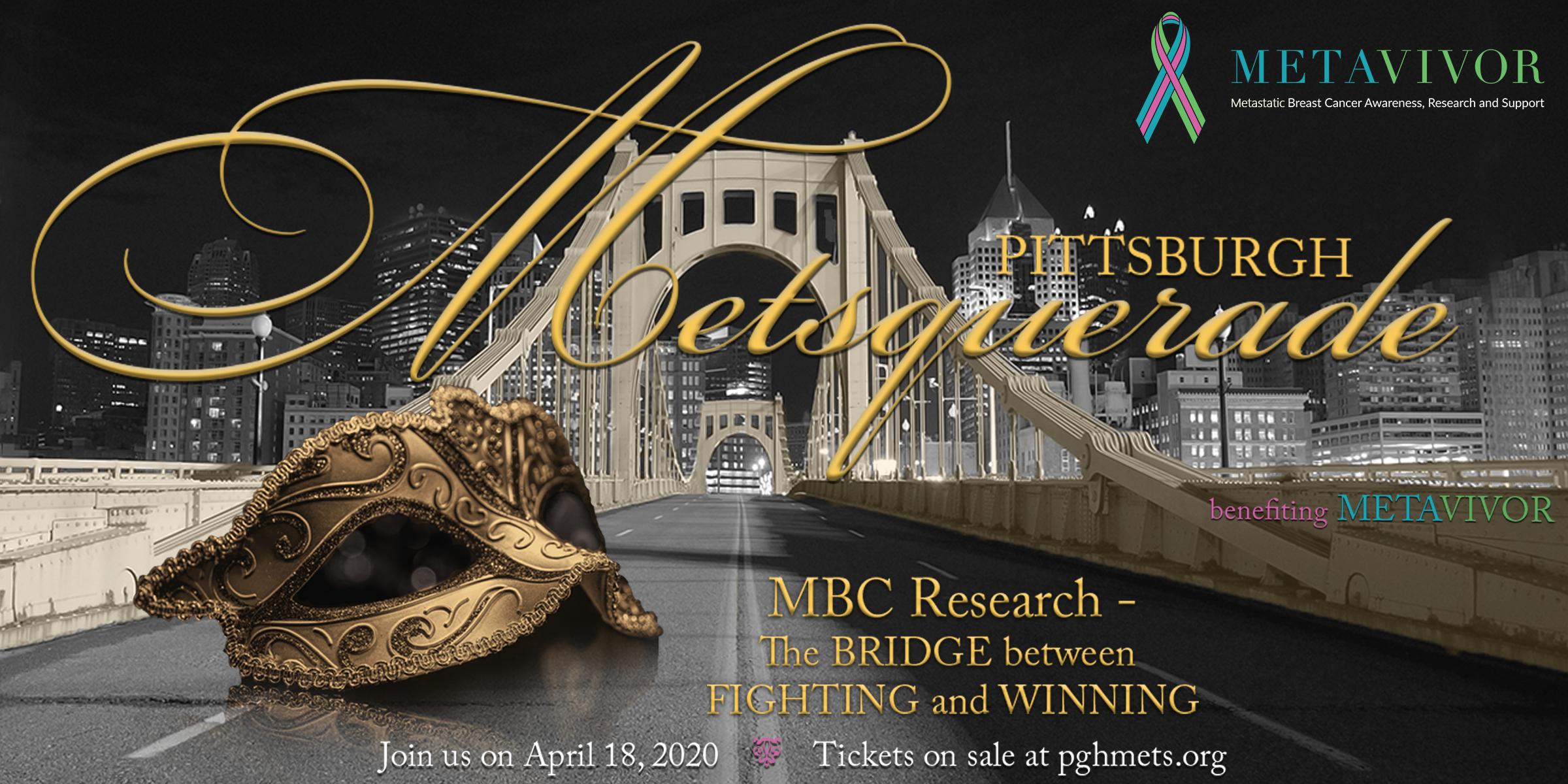 Pittsburgh Metsquerade - Benefiting Metavivor