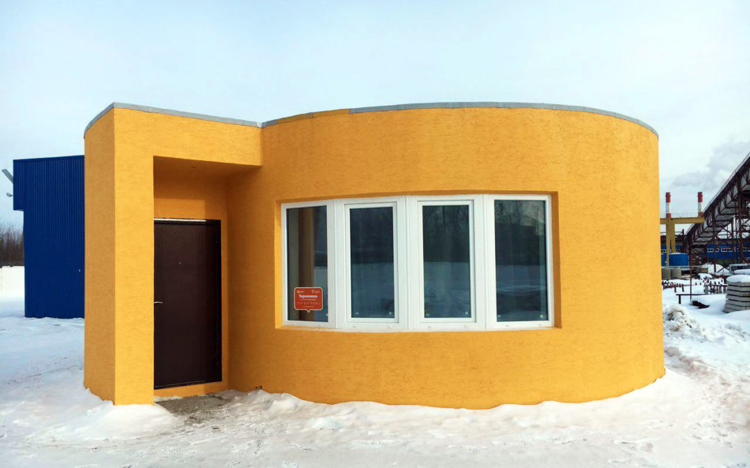 3D Printed Houses. Advancements In 3D Printing Is Helping Reboot The Construction Industry