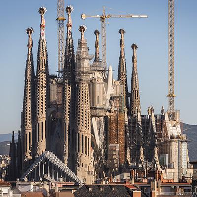 La Sagrada Familia Basilica in Barcelona
