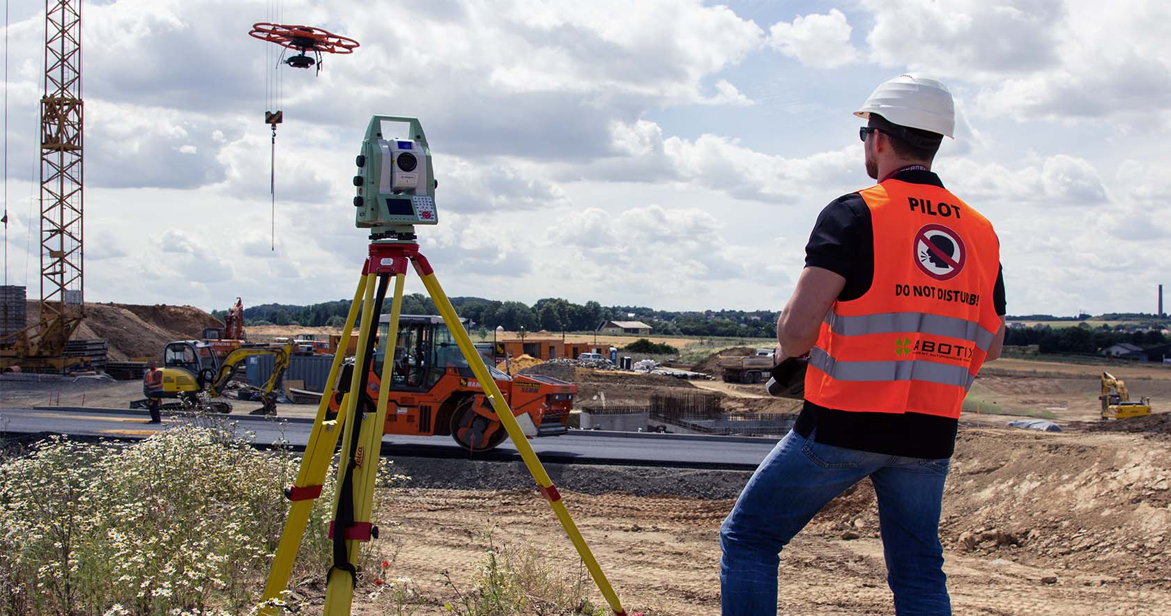 drones used in construction industry