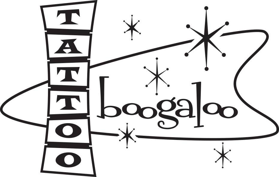 Tattoo Boogaloo Logo - San Francisco Tattoo Shop