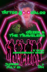 Gozers and the Travelers band poster