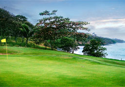 Oceanfront views are a hole in one; Avellanas, Costa Rica