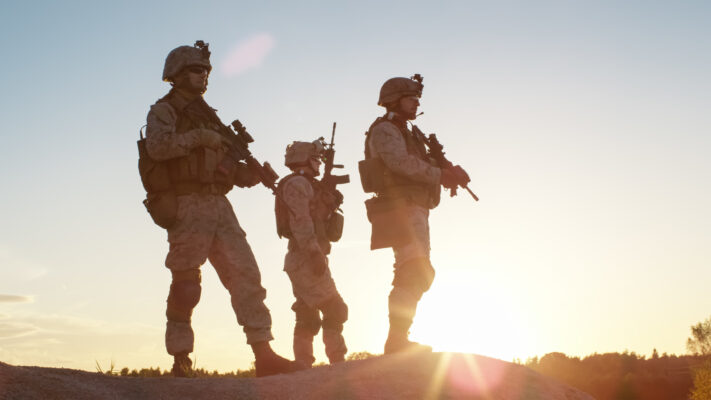 """""""Troops Standing together"""""""