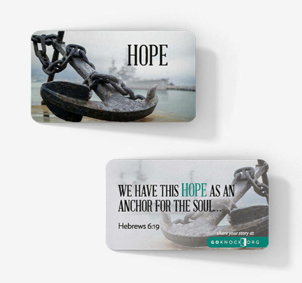"""""""Hope with anchor cards"""""""