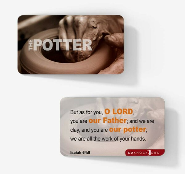 """Potter's wheel card"""