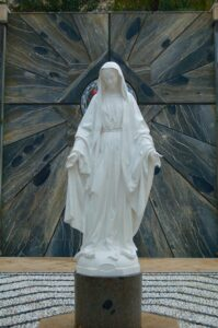 Mary Statue in Nazareth