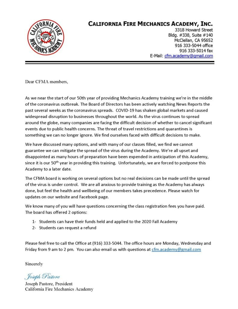 cfma spring 2020 50th cancelation letter_Page_1