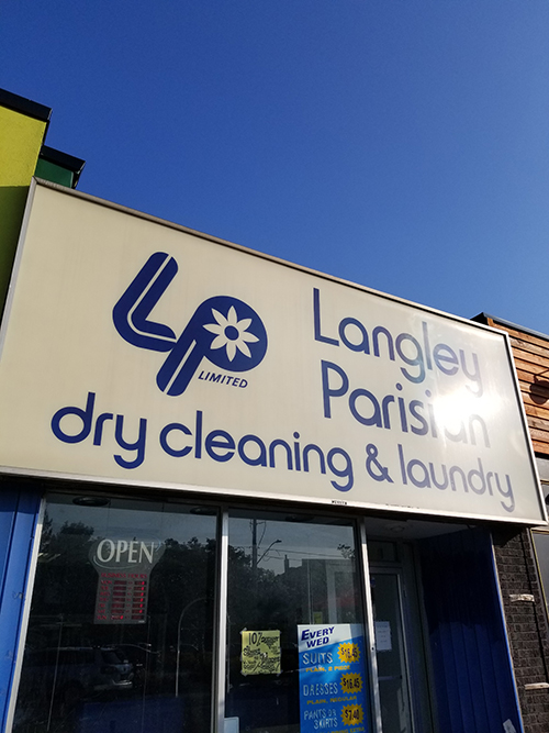 Langley Parisian Dry Cleaning