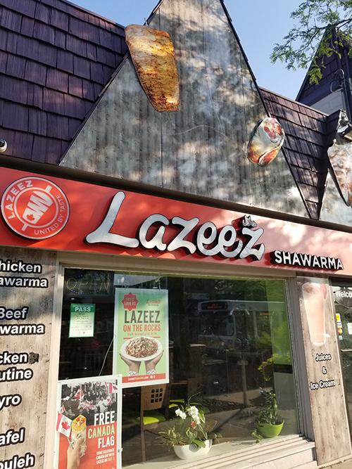 Lazeez Shawarma