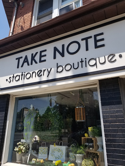 Take Note Stationery Boutique