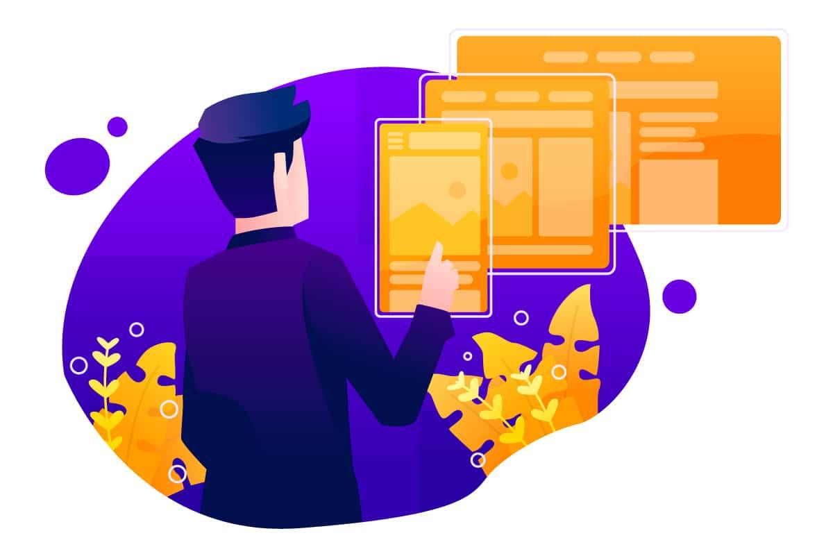 Illustration of Responsive Web Design