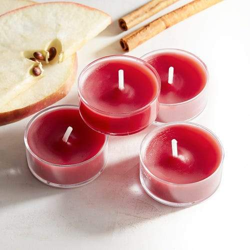 What better way to set the mood than with Island Orchard Tealight's 18-piece candle set.