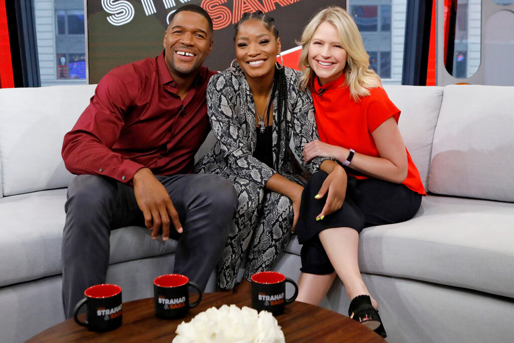 Keke Palmer Brings Her Black Girl Magic To 'Strahan and Sara'