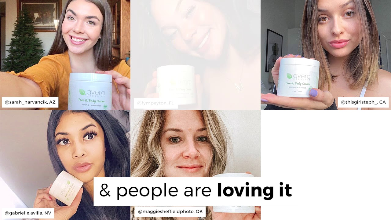 Your Skin's New Best Friend - Avera Organics Face and Body Cream