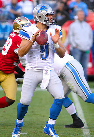 - Matthew Stafford - QB - Detroit Lions -  photo by: wilsonnfl22@yahoo.fr