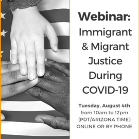 Immigrant and Migrant Justice During COVID-19