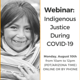 Indigenous Justice During COVID-19