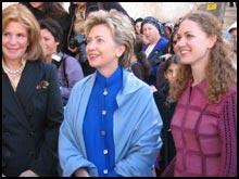 Hillary at the Kotel