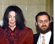 Rabbi Shmuley and MJ