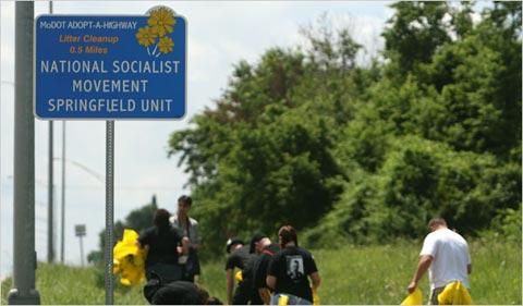 Keep that Jewish highway clean ya Nazi bastards!