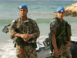 Italian UNIFIL Peace-Keepers