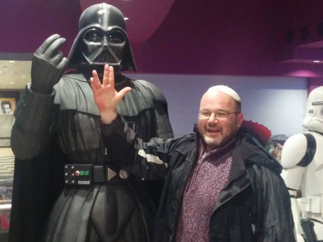 The Author Meets Darth Vader