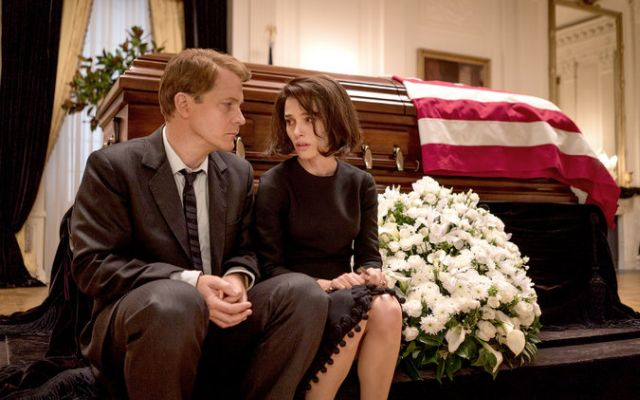 Jackie and Bobby Kennedy in Jackie