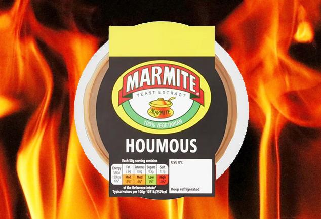 Marmite Hummus