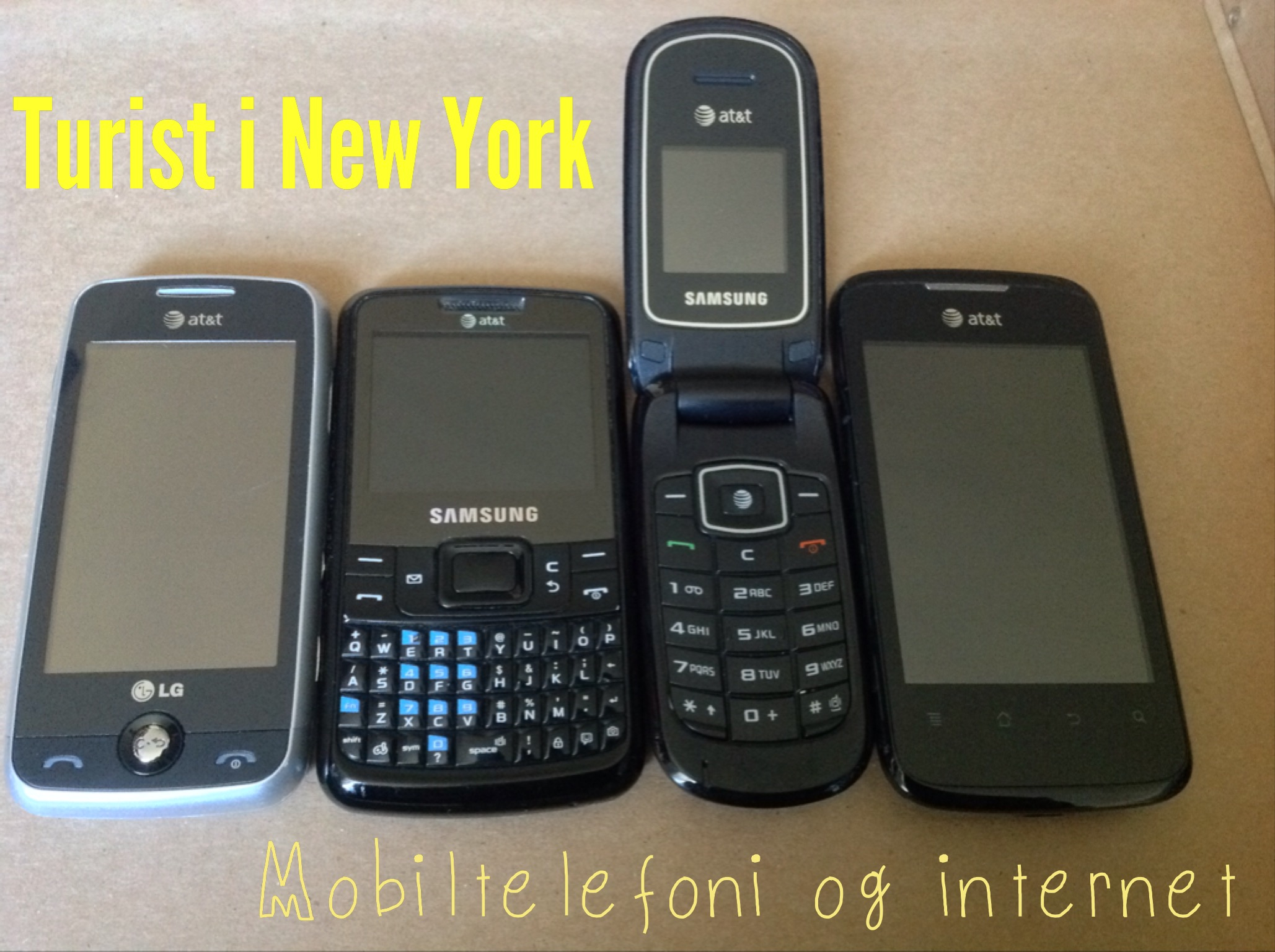 Mobiltelefoni & Internet i USA