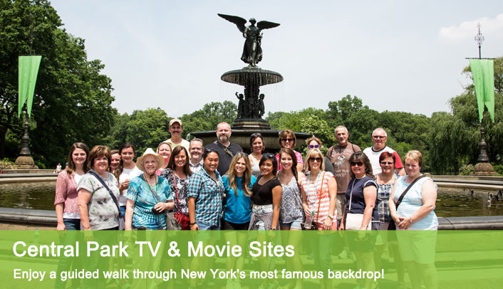 Central Park TV & Movie Sites