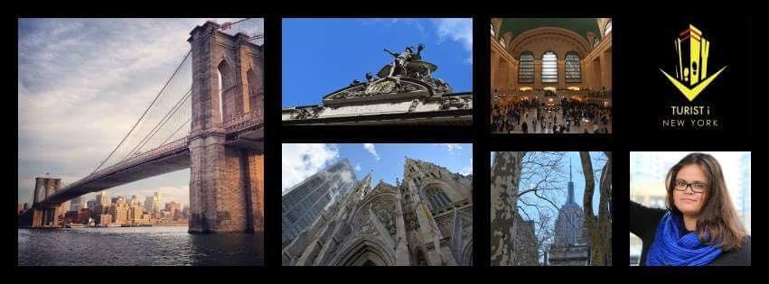 Turist i New York - Collage
