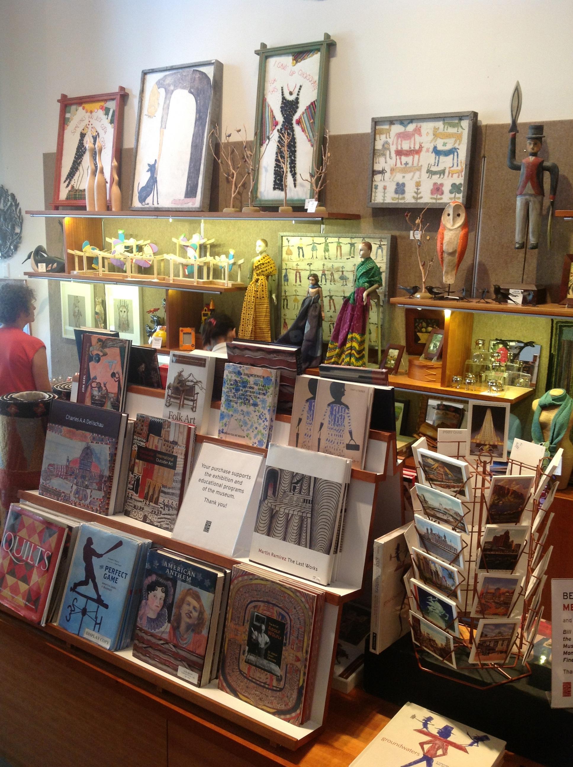 American Folk Art Museums butikken