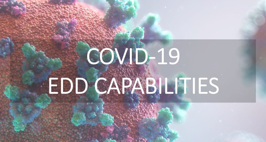 New COVID-19 Capabilities Page
