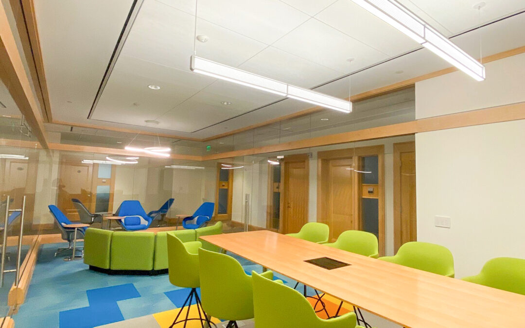 Interior Design Project: Team Room in Chevy Chase, MD
