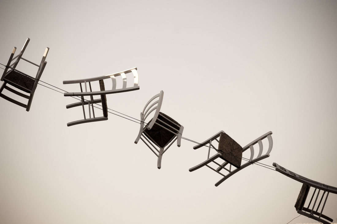 Waving Chairs, New Design Concept