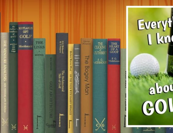 Golf Books #233 (Everything I Know About GOLF!: Blank Journal and Gag Gift)