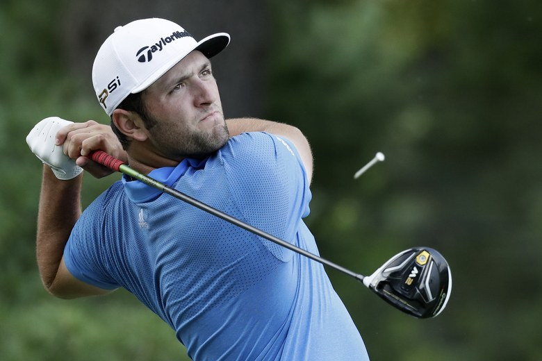 Jon Rahm of Spain plays a shot from the third tee during the second round of the Quicken Loans National at Congressional Country Club on June 24, 2016 in Bethesda, Maryland. (Photo by Rob Carr/Getty Images)