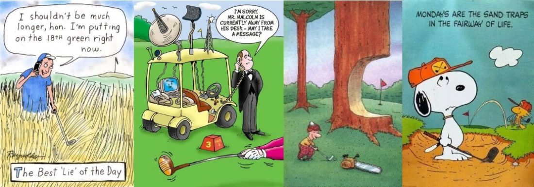Golf Cartoon #342