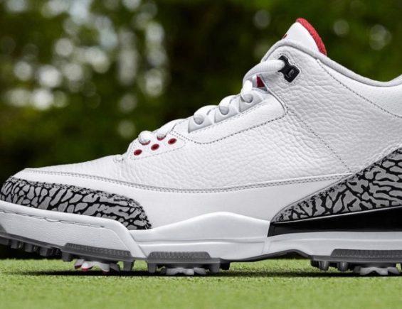 Nike Unveil New Jordan III Golf Shoe