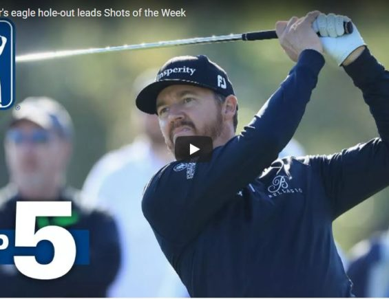 Jimmy Walker's eagle hole-out leads Shots of the Week