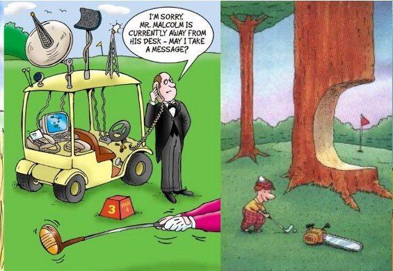 Golf Cartoon #376