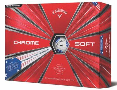 Callaway launch new chrome soft Truvis Ryder Cup balls