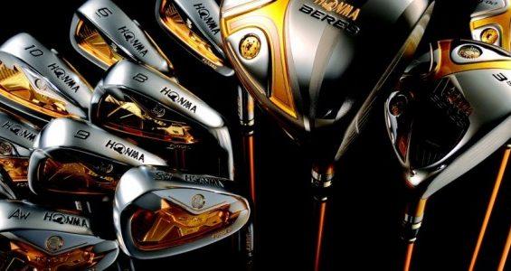 HONMA GOLF'S $75,000 SET OF CLUBS