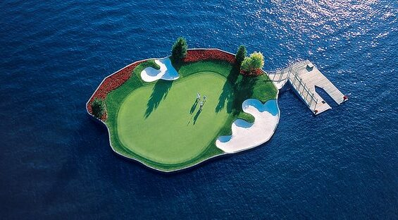 The Coeur d'Alene Resort Golf Course, USA