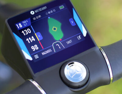 Motocaddy M5 Connect (World's first touch screen electric trolley)