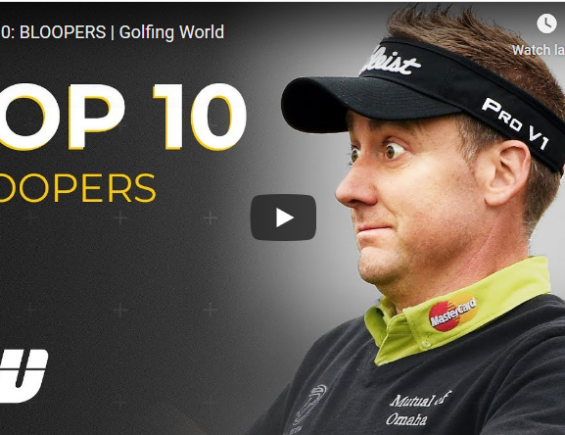 Top10 Bloopers in Golf