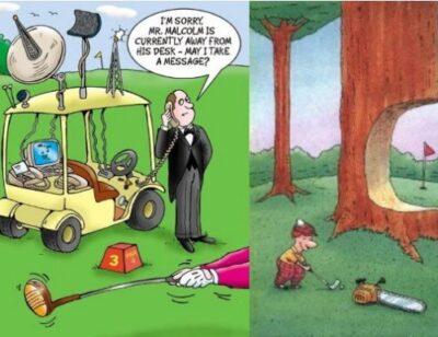 Golf Cartoon #428