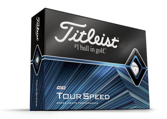 Titleist introduce Tour Speed ball